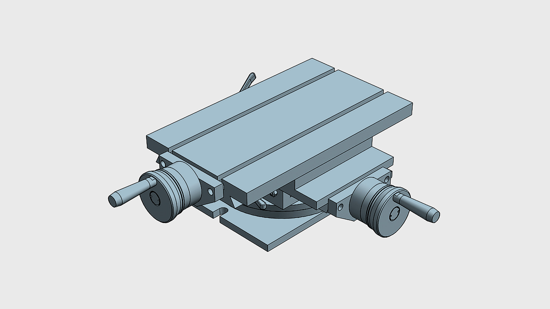 GL Light XY coordinate table with rotary basis