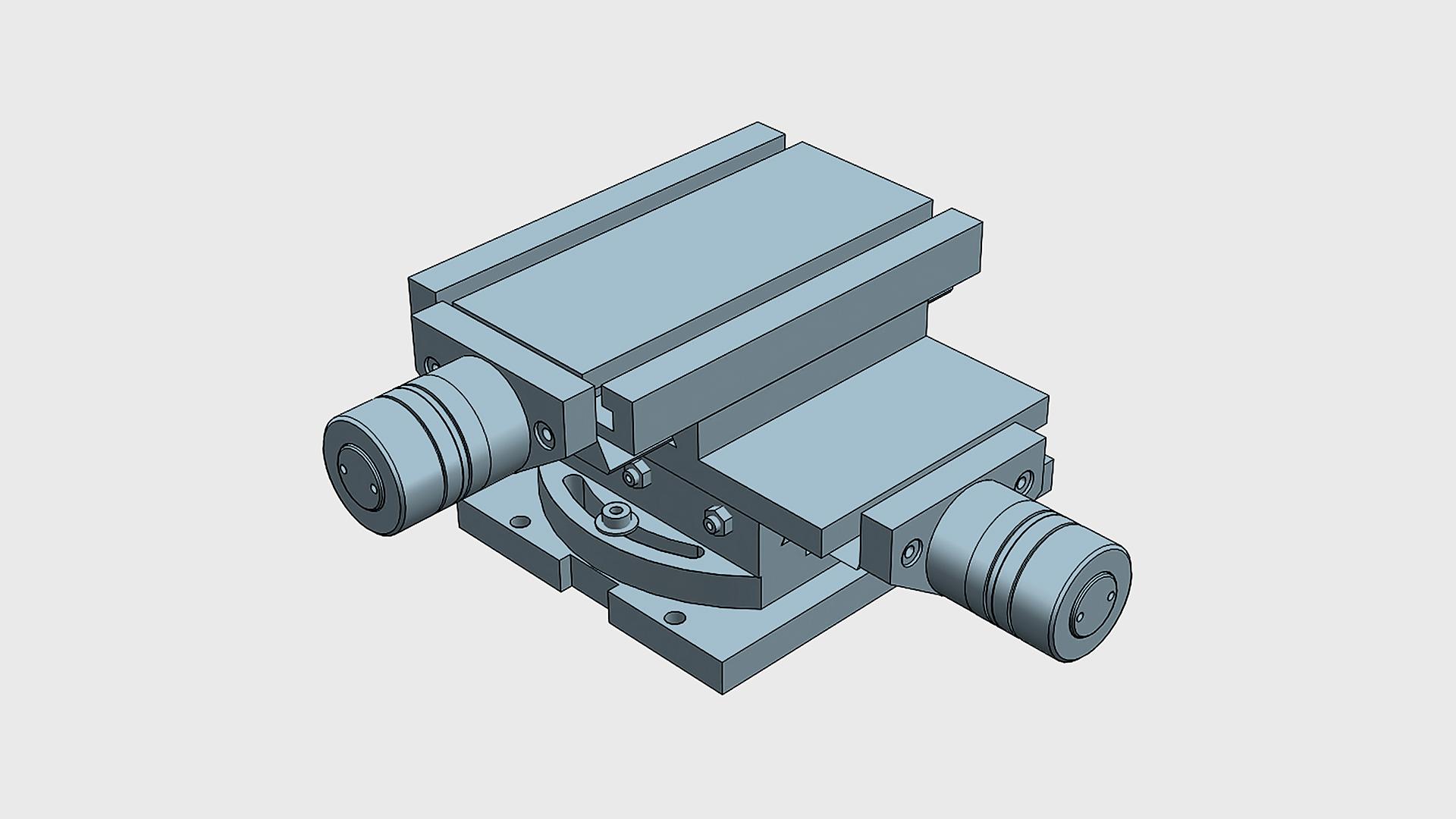 MG MINI. XY MINI Coordinate table with rotary basis