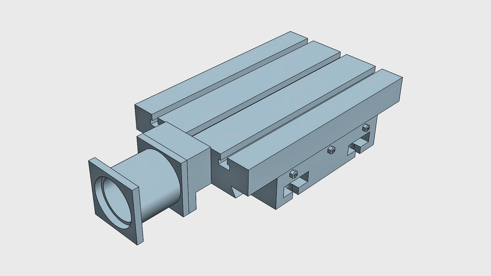 PK Automatic X slide unit (horizontal or vertical)